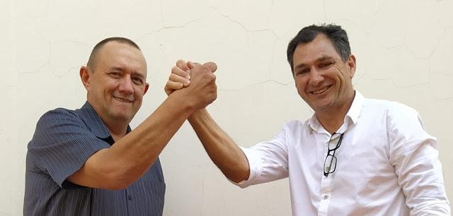 Ex-prefeito Nei Calori e Ivo do Mercado são definidos como candidatos a prefeito e vice-prefeito em Mamborê