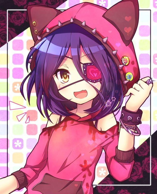 Anime Eyepatch Girl : anime, eyepatch, Anime, Girls, Patch, Animoe