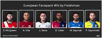 PES 2021 European Facepack #14 by Fleishman