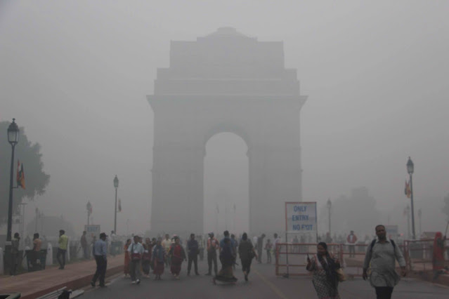 Delhi pollution- worst case scenario