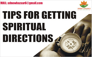 TIPS FOR GETTING SPIRITUAL DIRECTIONS