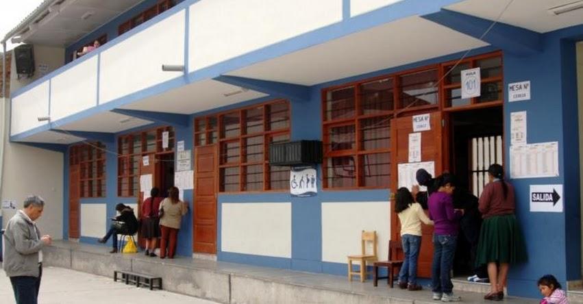 ELECCIONES SEGUNDA VUELTA: Consulta aquí tu local de votación y horario escalonado para el domingo 6 de junio
