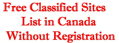 Free Classified Sites List in Canada Without Registration