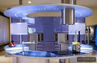 Round Countertop Kitchen 12
