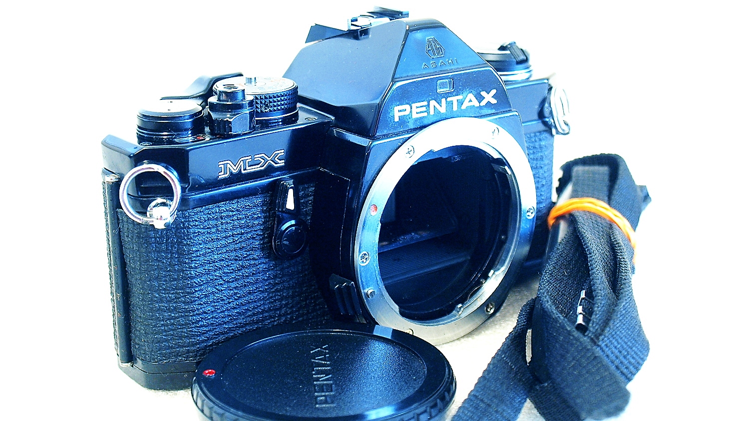 Pentax MX 35mm SLR (Black) Body #495