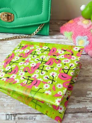 Find the instructions for a duct tape wallet at DIY beautify
