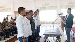 Danramil 416-05 Muara Tebo Resmi Dilantik Jadi Wakil Ketua Asosiasi PSSI Tebo