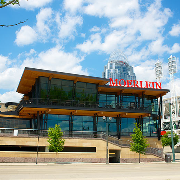 Photo of the outside of Moerlein Lager House in Cincinnati, Ohio