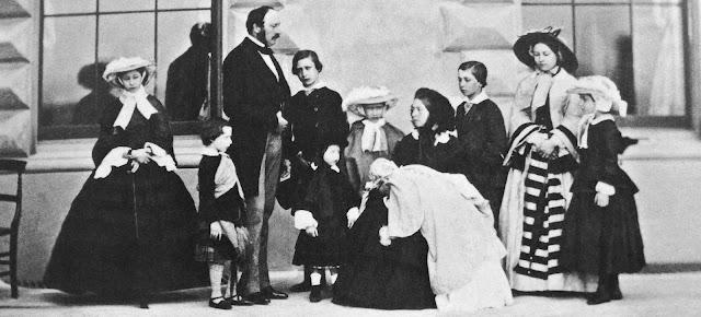 Victoria, Albert, children, princes, princesses, royal family, royal families, royal children, royal birth