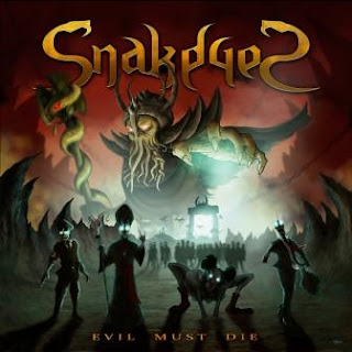 "Το τραγούδι των SnakeyeS ""New World Order"" από το album ""Evil Must Die"""