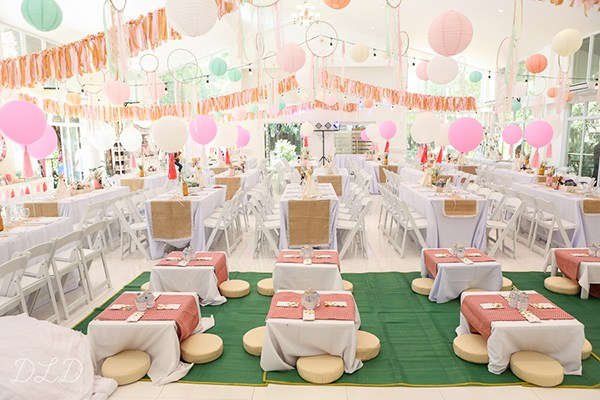 Little Big Company The Blog Boho Themed Twin Birthday Party - birthday party design