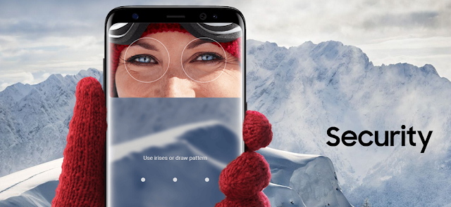 Samsung Galaxy S8 and S8+ security