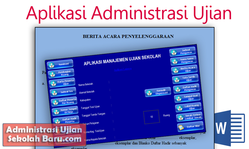Aplikasi Administrasi Ujian Madrasah