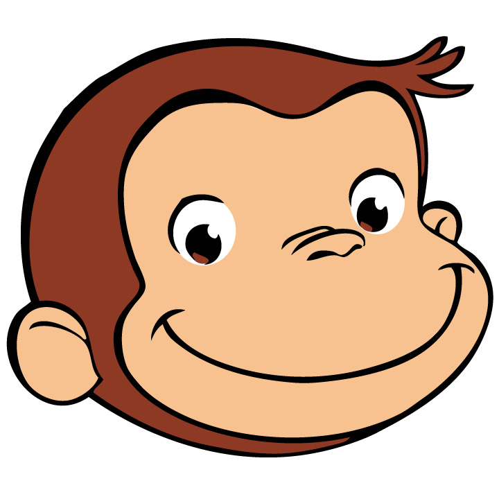 The290ss: DIY: Curious George Centerpiece with free printables  The290ss: DIY: ...