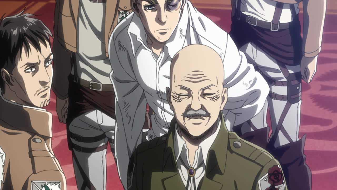 الحلقة الخامسة من أنمي هجوم العمالقة الموسم الـ3  Shingeki no Kyojin S3 - 05