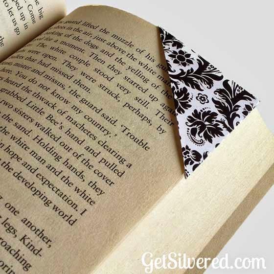 Silhouette projects, scraps, using scraps, book corner
