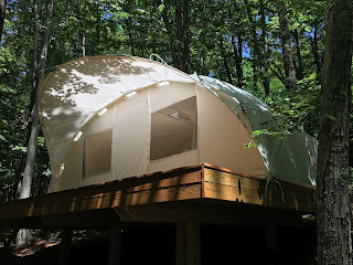 Glamping comfort at nature, Ctents