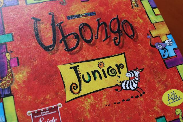 Recenze Ubongo junior na blogu www.spoluhratky.eu