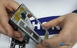 Cara ganti baterai hp samsung a3