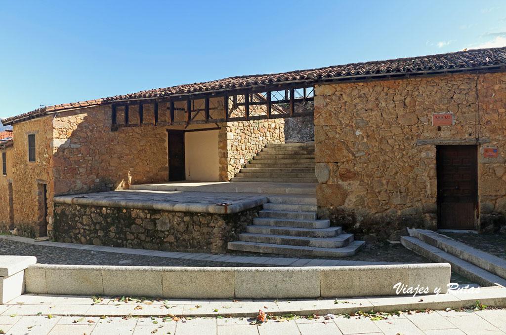 Plaza Juan de Austria de Cuacos de Yuste