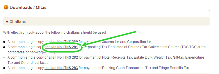 Download Tax Deducted at Source (TDS) / Tax Collected at