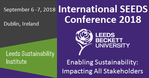 Event - International SEEDS Conference 2018 / Enabling Sustainability: Impacting all stakeholders