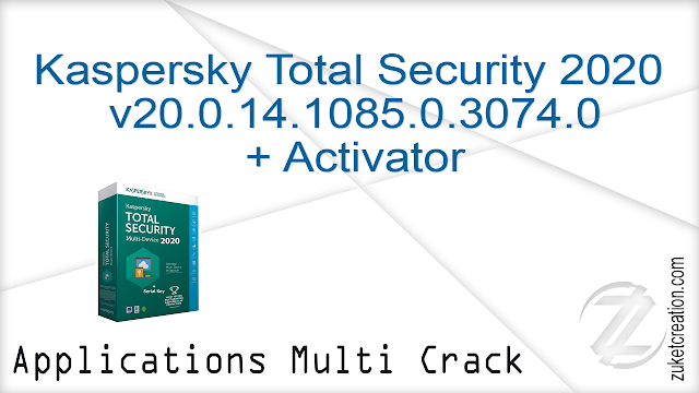 Kaspersky Total Security 2020 v20.0.14.1085.0.3074.0 + Activator