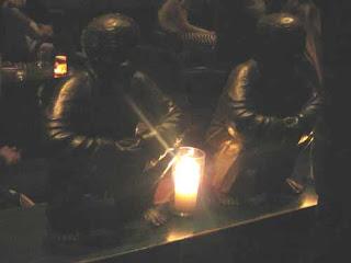 Crouching Statues TAO New York