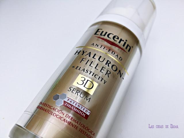 Hyaluron-Filler + Elasticity 3D Serum Eucerin antiaging dermocosmética beauty cuidado facial