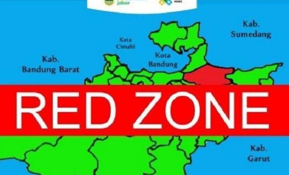 Kota Bandung Masuk Zona Merah Penyebaran Corona