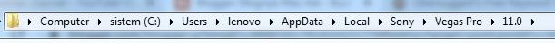 Cara Membuka Temporary File Vegas Pro