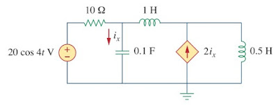 Nodal and Supernode for AC Circuit