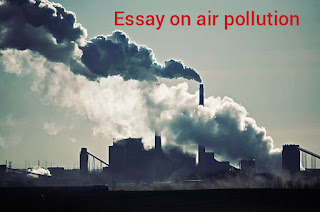 unique essay on air pollution