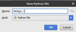 Belajar Menulis Hello World dalam Bahasa Pemrograman Python