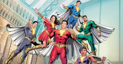 New Shazam Family Costumes Revealed In New Set Photo