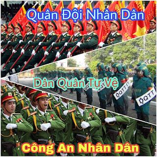 Chỉ huy Quân đội nhân dân, Công an nhân dân và Dân quân tự vệ được quy định như thế nào?