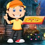 Games4King Pizza Delivery Boy Rescue