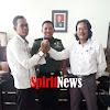 Pengurus PWI Sulsel Pererat Hubungan Silaturahmi Dengan Kapendam XIV/Hasanuddin