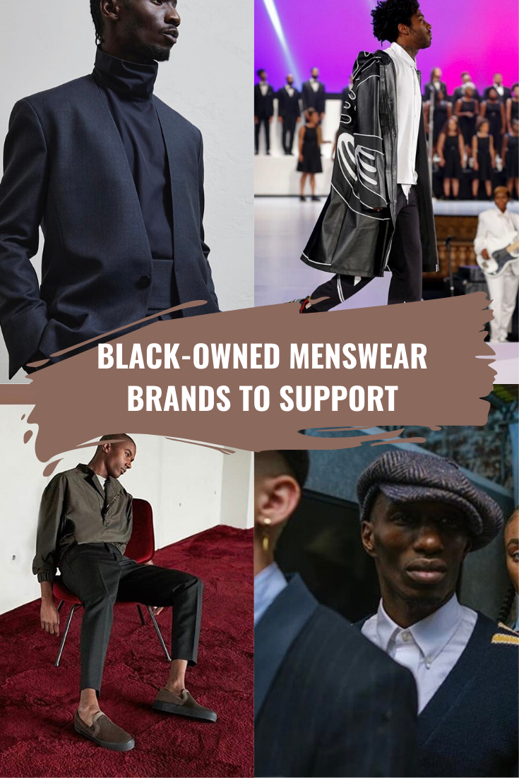 Black-Owned Menswear Brands
