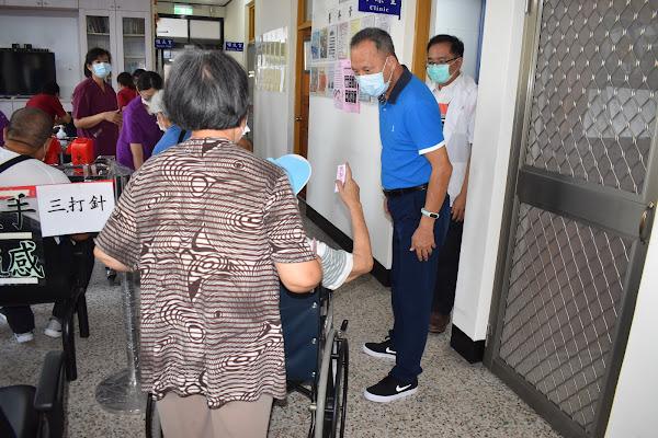 中彰榮家公費流感疫苗接種 打擊流感注健康