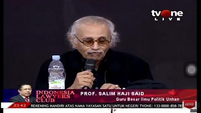 Salim Said: Bangsa Kita Tak Bodoh, Cuma Yang Ngurusnya Enggak Bener!