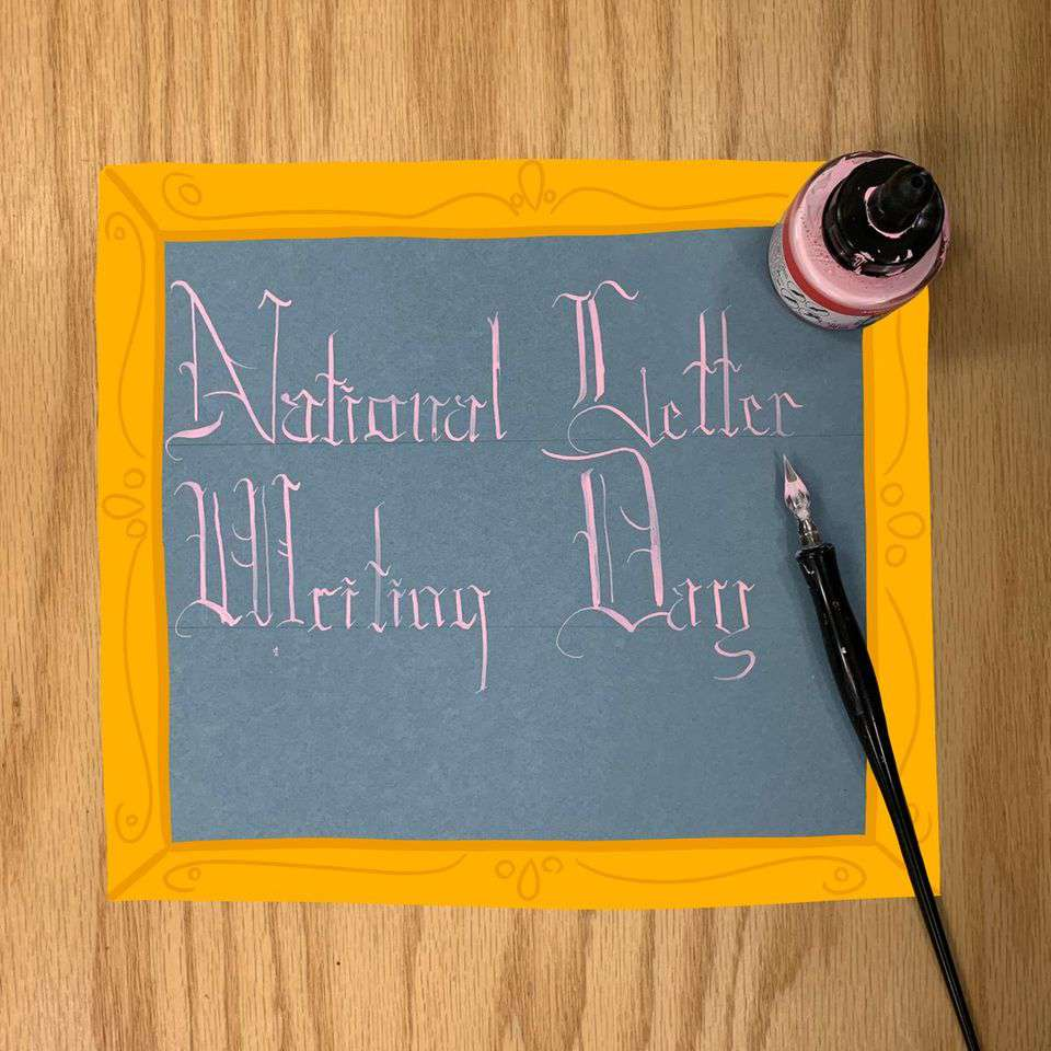 National Letter Writing Day Wishes Photos
