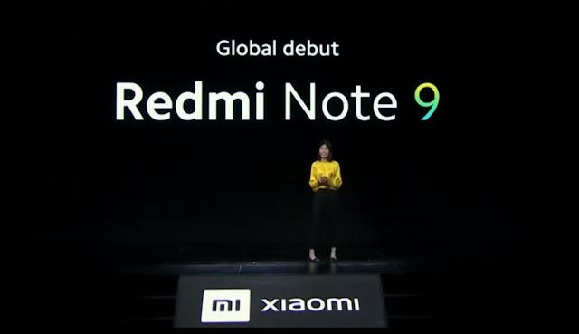 Spesifikasi dan Harga Redmi Note 9