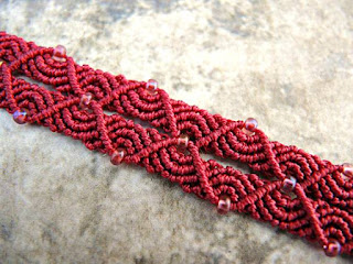 New micro macrame pattern by Knot Just Macrame.