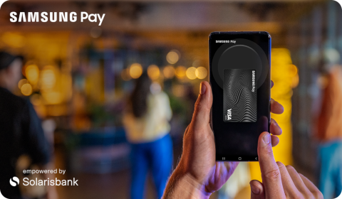 Samsung Pay + Solarisbank
