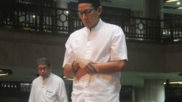 Prabowo Tak Gandeng Ulama, Pengamat: Sandi Juga Sangat Religius, Dia Sejak Kecil Puasa Senin-Kamis