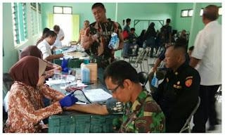 IMG 20171208 WA0011 - Kodim 0616/ Indramayu aksi Donor Darah dalam rangka HJk