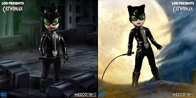 DC Universe Catwoman Living Dead Dolls by Mezco Toyz x DC Comics