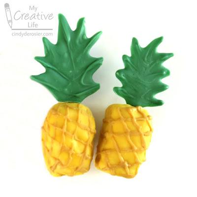 rice krispie treat pineapple