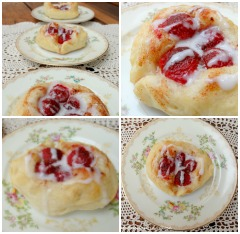Raspberry Danishes